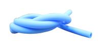 Silikonschlauch Hellblau matt