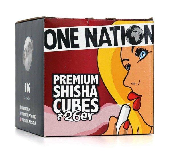 One Nation Naturkohle 1kg
