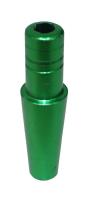 Alu Endstück - Grün