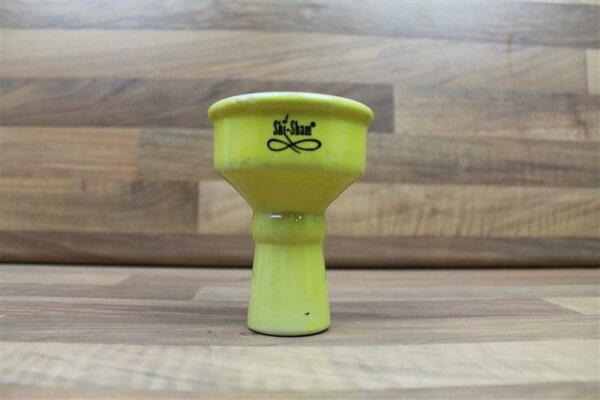 Shisham Standardkopf Keramik gelb