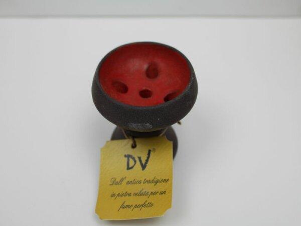 Da Vinci Steinkopf Black Red KLEIN