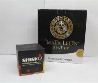 Mata Leon Heat Up + 1 Kg Shisko Kohle