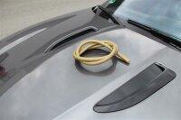 Silikonschlauch matt - gold Carbon