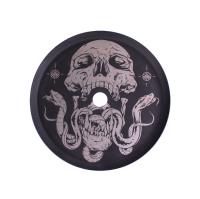 Kohleteller Alpha Hookah Nr.2 Skull