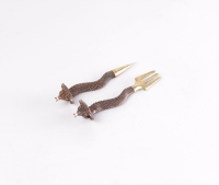 Tabakgabel Stecher Set | Cobra